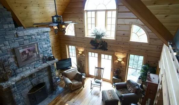手工木材搭建房子图片大全