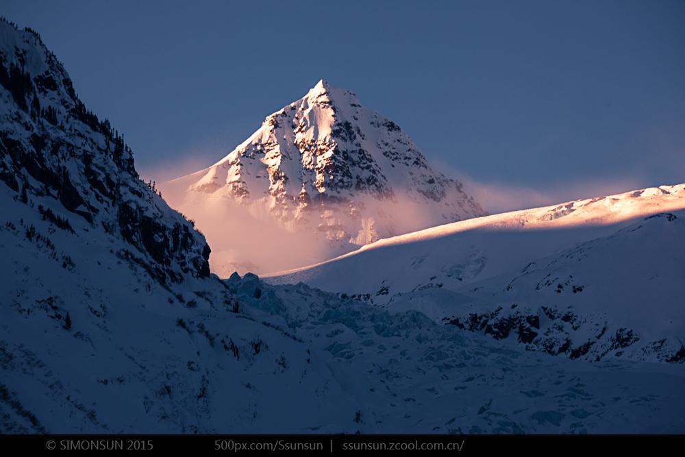 北极夜晚风景高清980